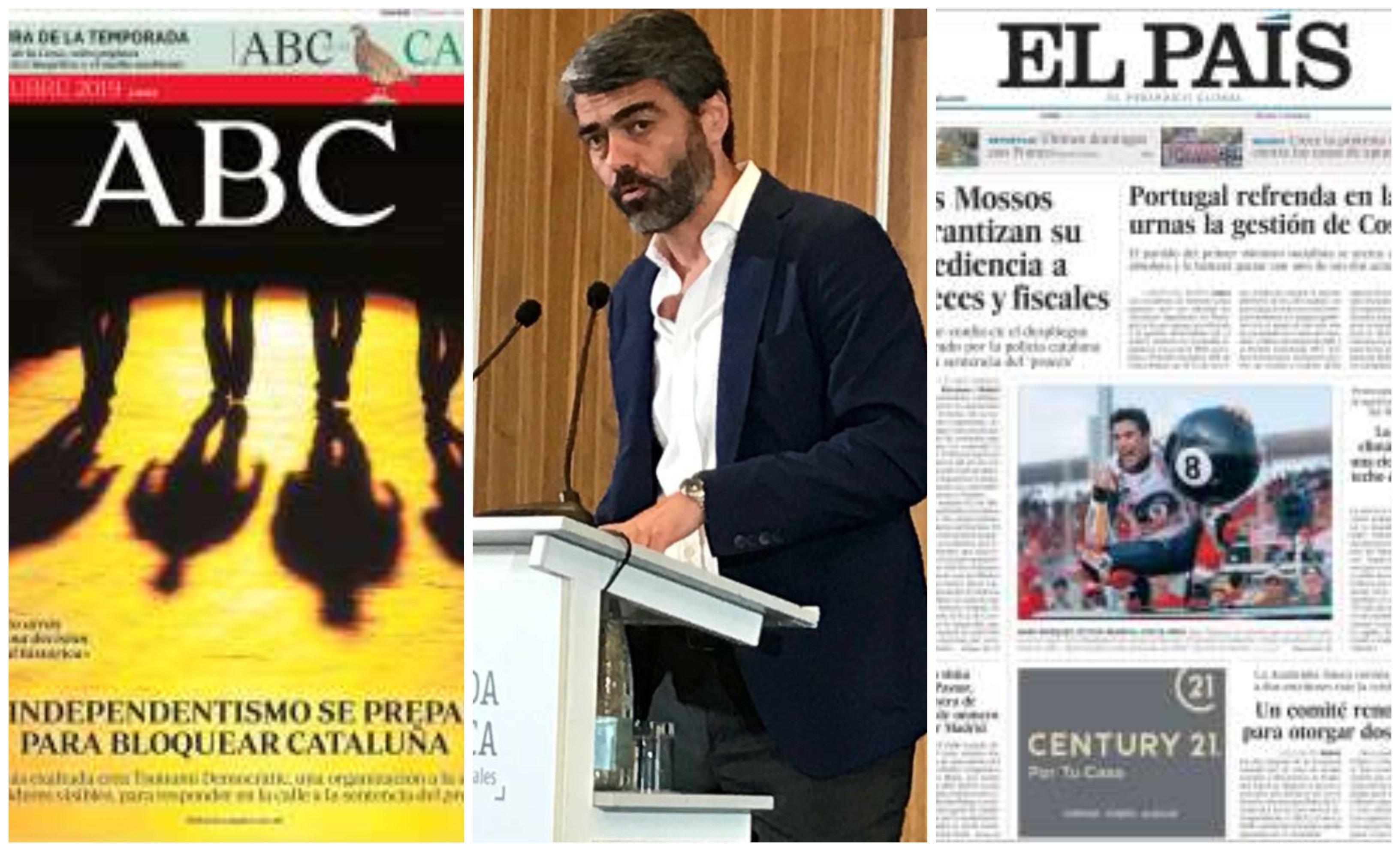 Luis Enríquez entre 'ABC' y 'El País'