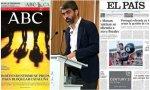 Luís Enriquez entre 'ABC' y 'El País'