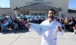 Leandro Rodriguez Lastra lleva tres años trabajando en el hospital de Cipolletti