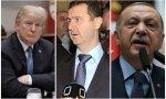 Trump, Al Asad y Erdogan