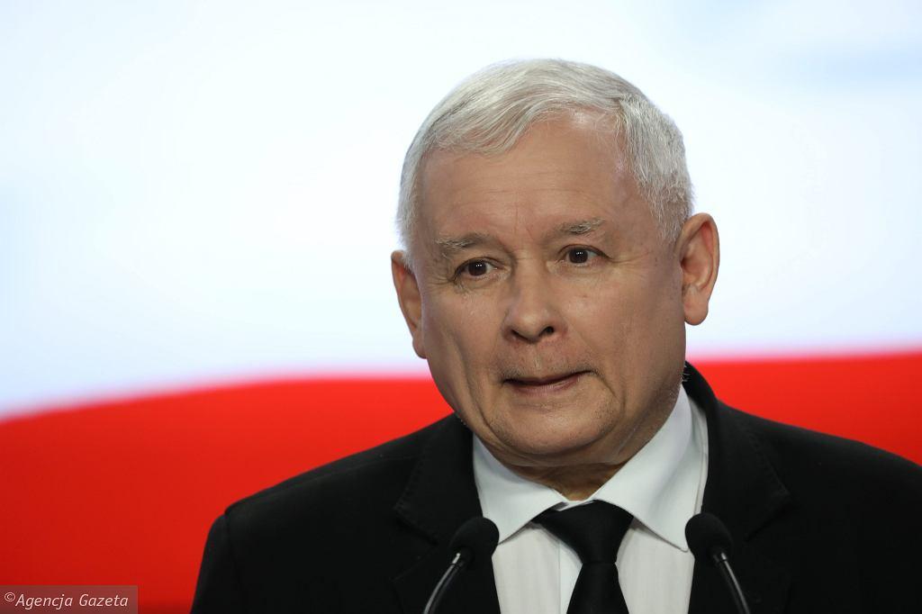 Jaroslaw Kaczynski,  jefe del partido en el poder Ley y Justicia (PiS)