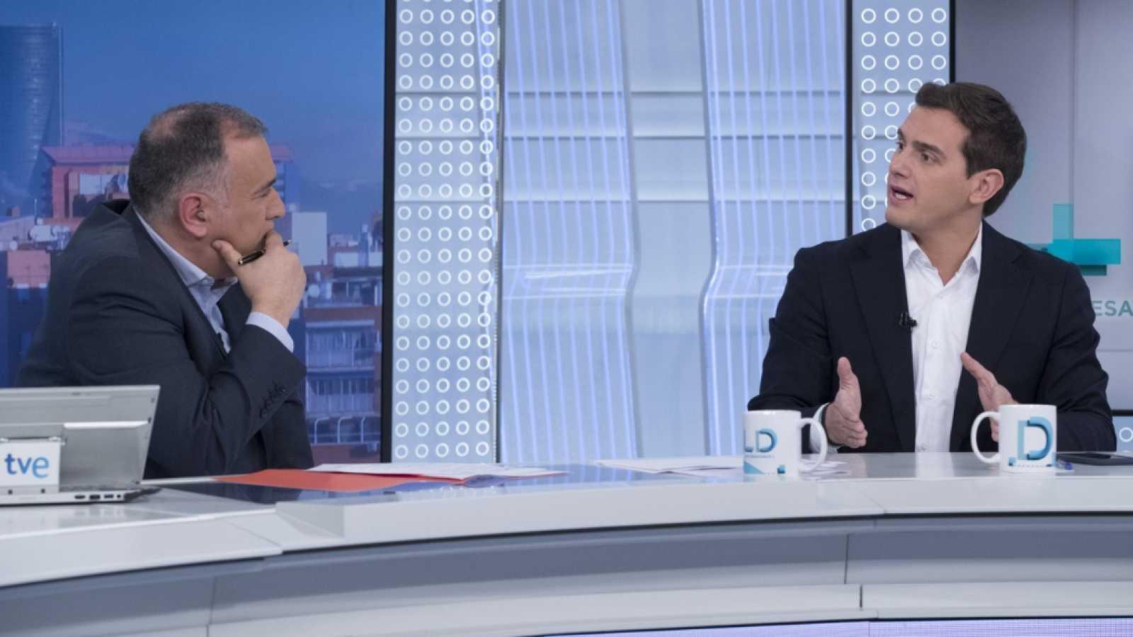 """Rivera cabrea a Xabier Fortes (Los Desayunos de TVE): """"Esta casa se ha convertido en Tele-Sánchez"""""""