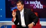 """Rafael Correa, expresidente de Ecuador: """"Si me dejan registrarme para unas elecciones, vuelvo a Ecuador, aunque me metan preso"""""""