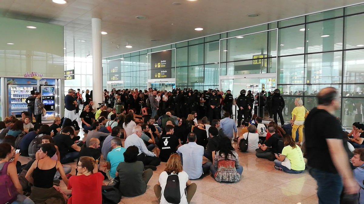 Colapso del Aeropuerto de Barcelona: ahí empezó la cosa.