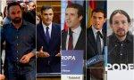 Los líderes de las principales formaciones políticas