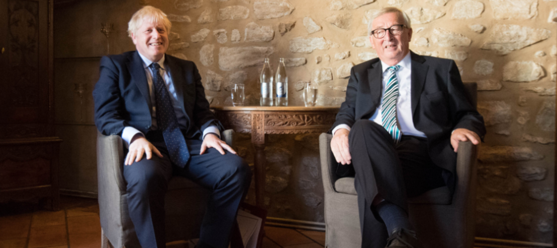 Juncker y Johnson