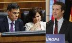 Carmen Calvo, censora de Casado y vencedora del cadáver de Franco