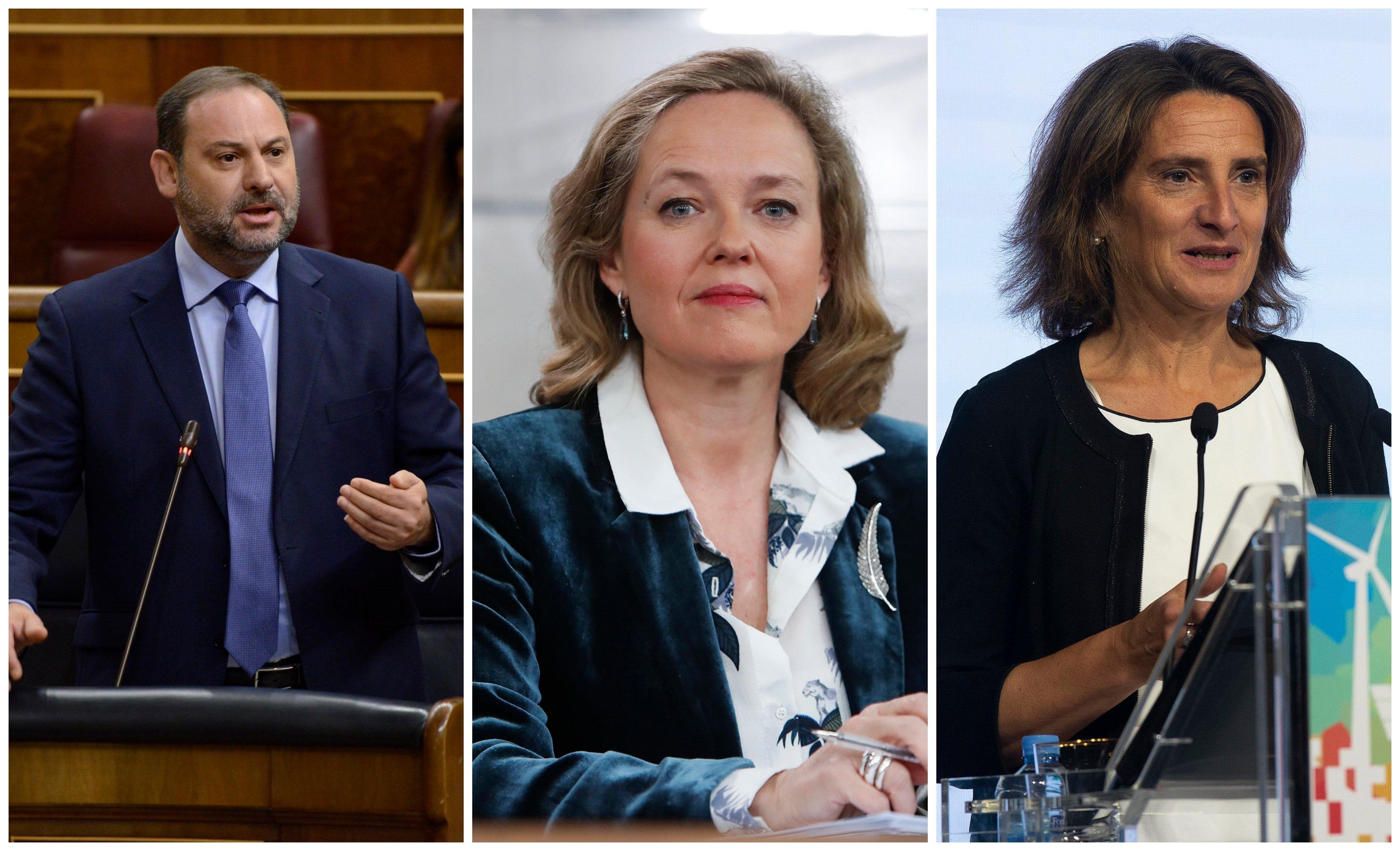 Sánchez prepara tres vicepresidencias: Ábalos, Calviño y Ribera… Calvo saldría del Ejecutivo