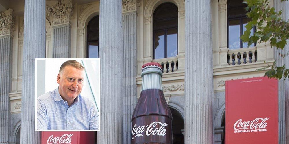 Coca-Cola European Partners debutó en la Bolsa de Madrid el 2 de junio de 2016 y el CEO, Damian Gammell