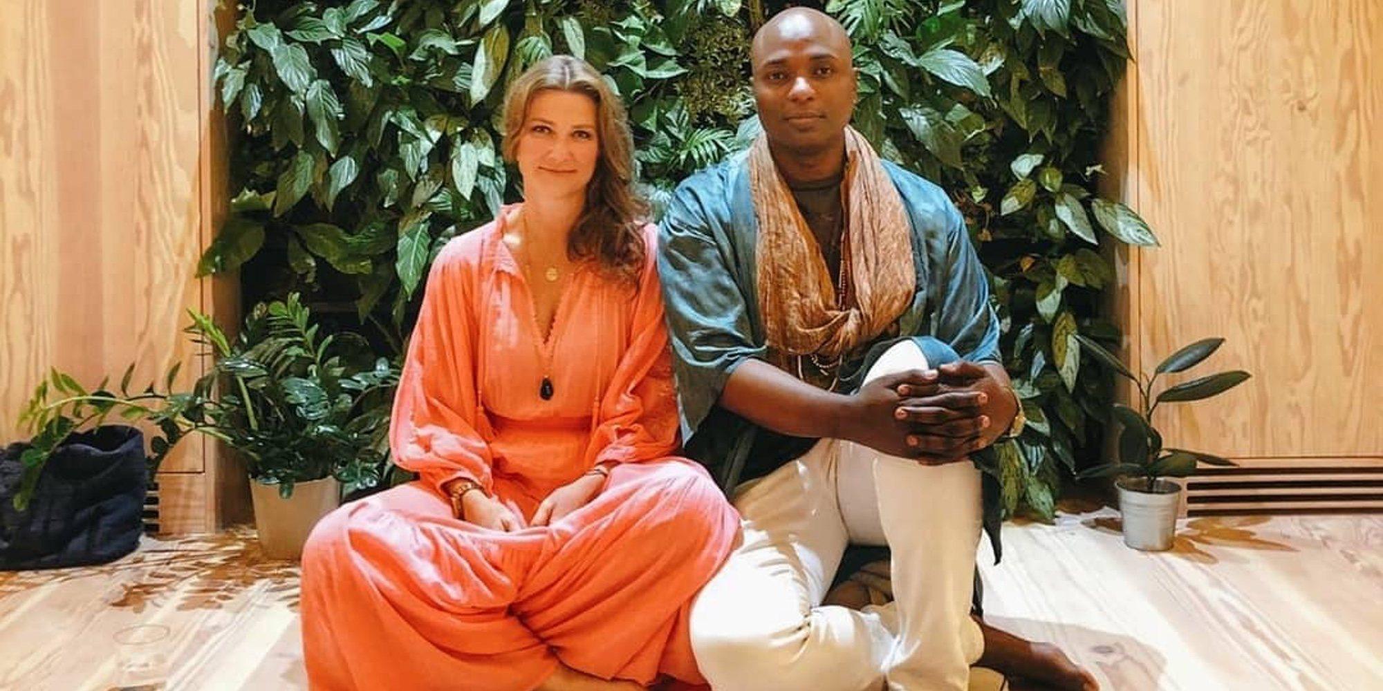 El Chaman Durek y su novia, Marta Luisa de Noruega