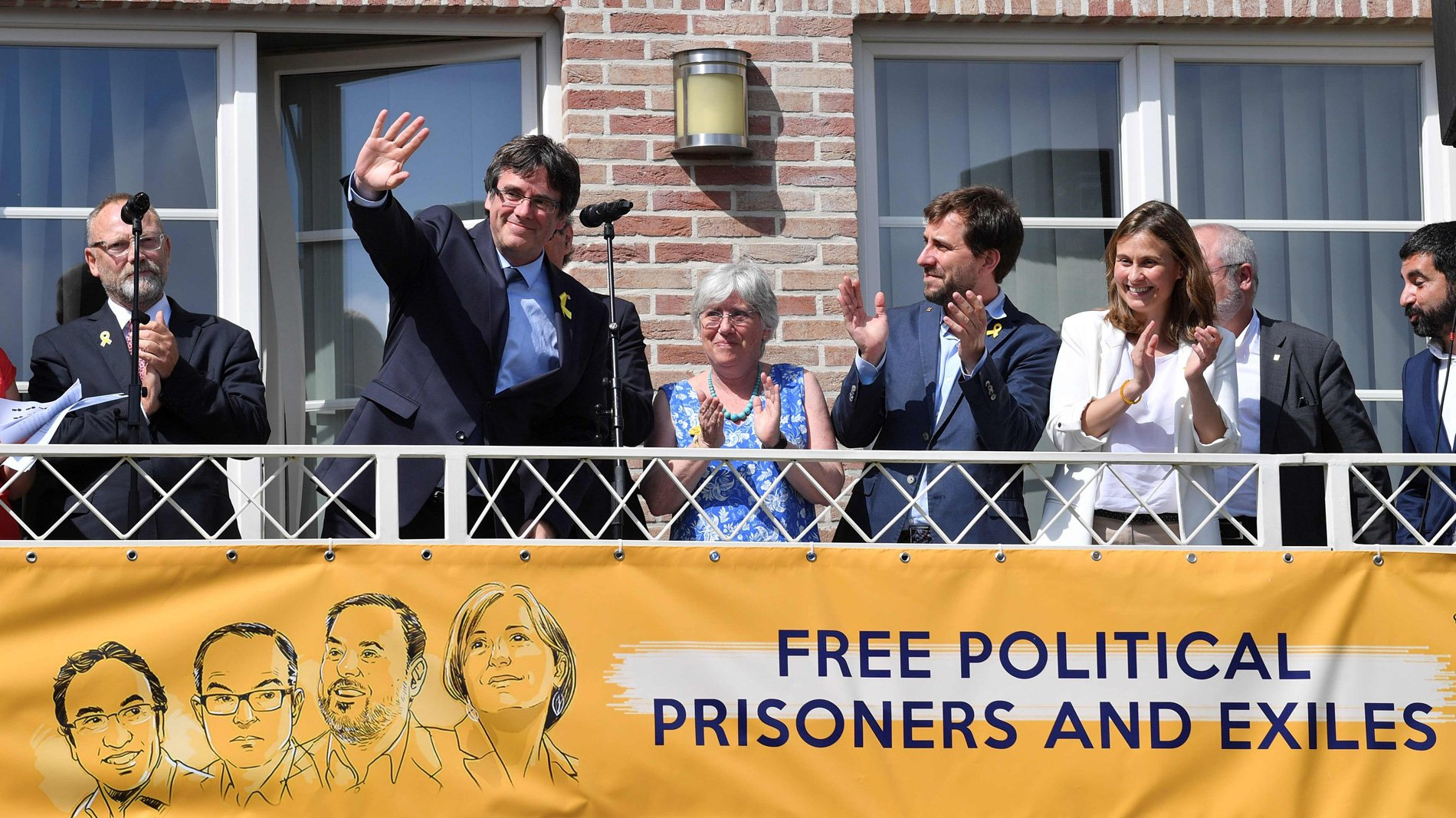 Los sueños independentistas de Puchi; Canadá, Escocia, Eslovenia… solo le queda Kosovo