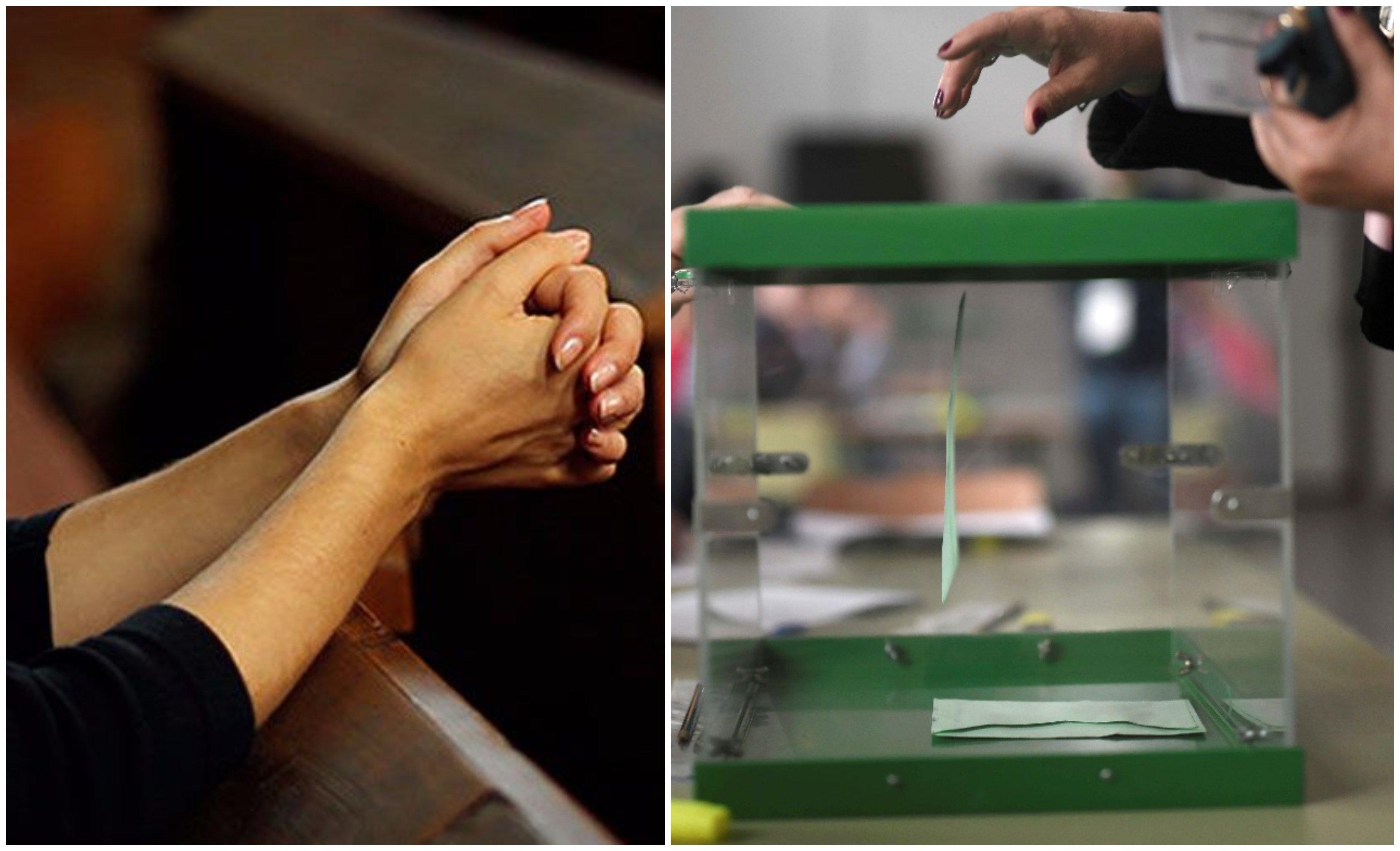 Creyentes, la fe es la capacidad de soportar la duda... hasta la de las votaciones