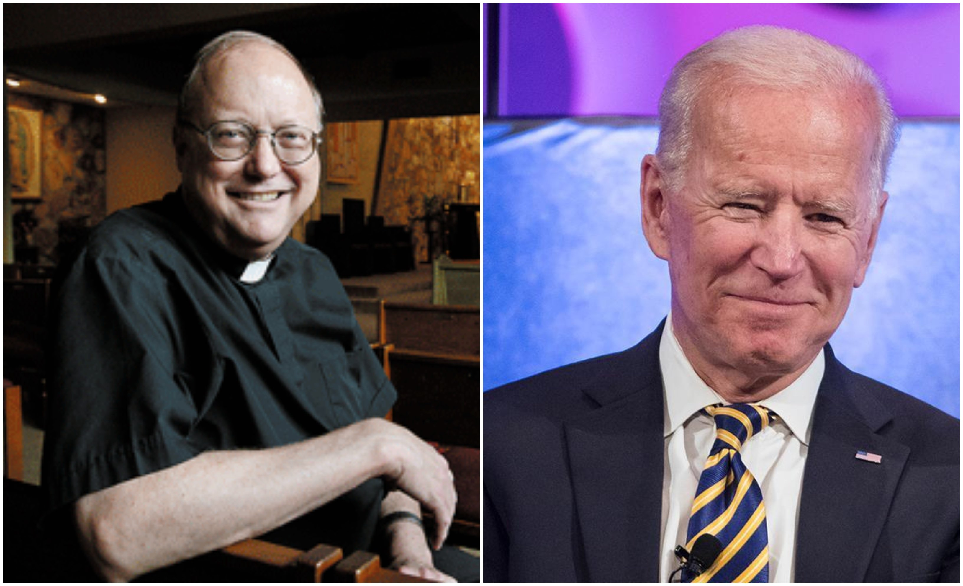 El P. Robert Morey niega la Eucaristía a Joe Biden