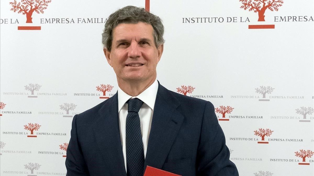 El presidente del instituto empresa familiar, Francisco Riberas