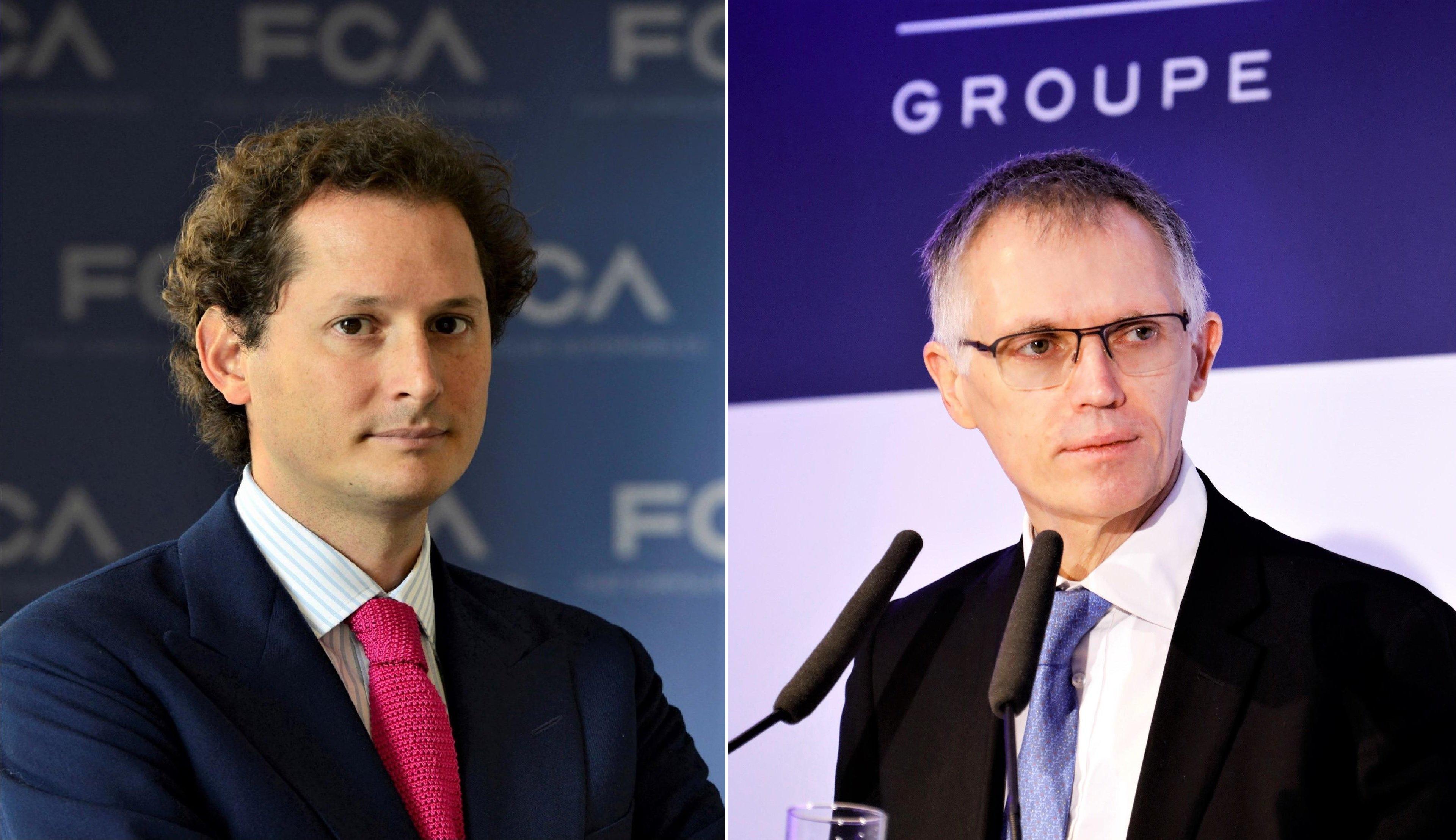 John Elkann (FCA) y Carlos Tavares (PSA) serán presidente y CEO del nuevo grupo, respectivamente