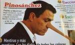 La impunidad tiene consecuencias: que el observador inteligente se hastía y cuenta la verdad. Y entonces es cuando usted, señor Sánchez, queda como lo que es: un enorme embustero.
