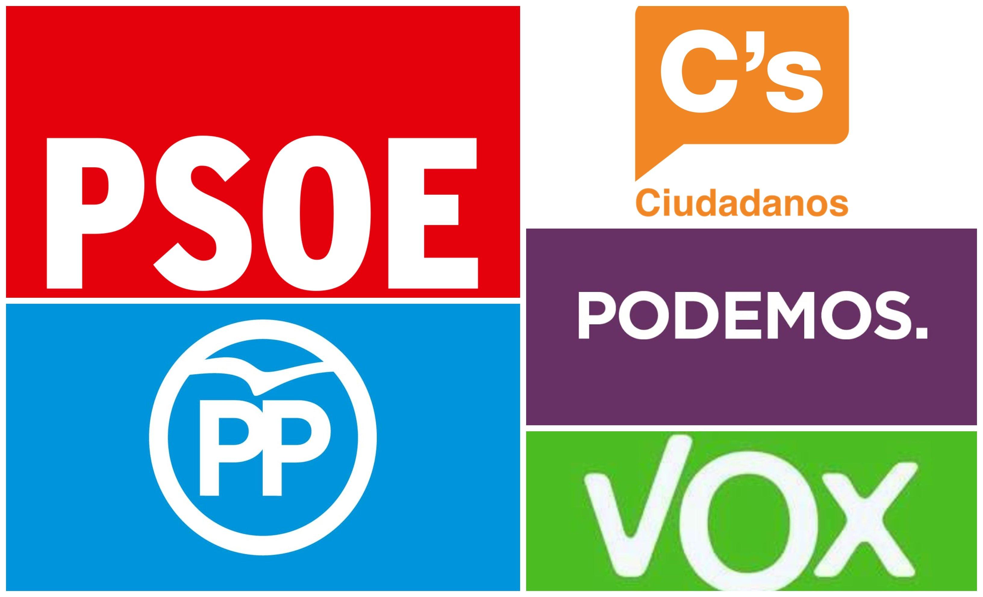 Mapa electoral. Dos progres de izquierdas, dos progres de derechas y un no-progre