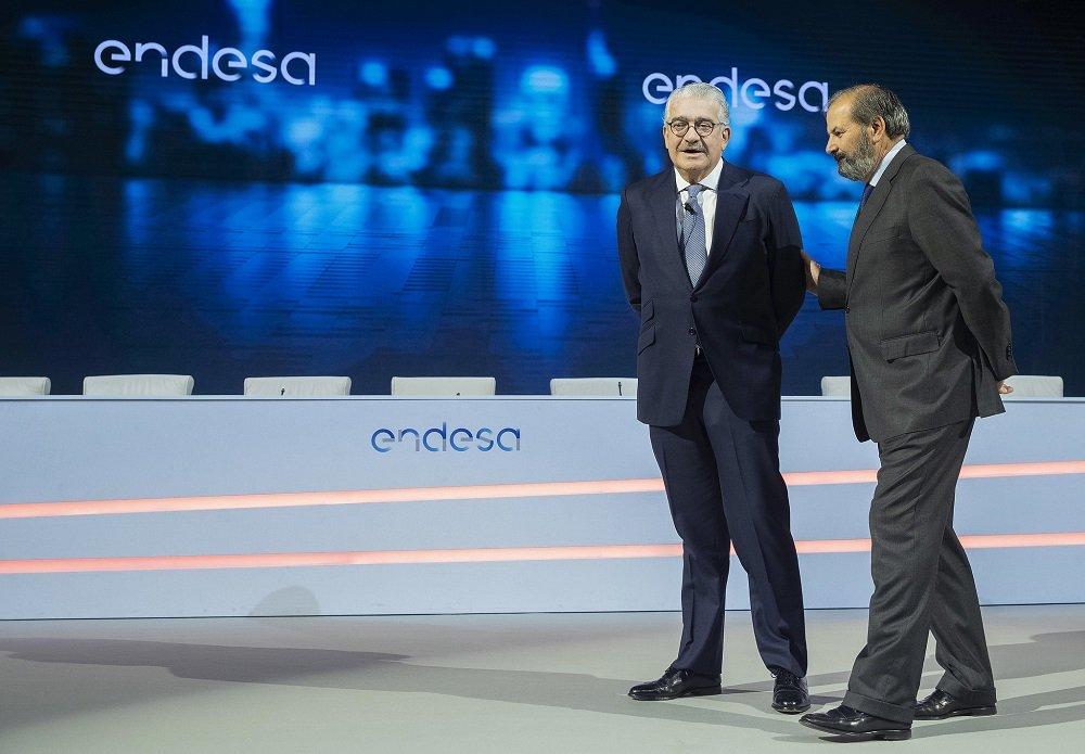 José Bogas y Juan Sánchez-Calero, CEO y presidente de Endesa