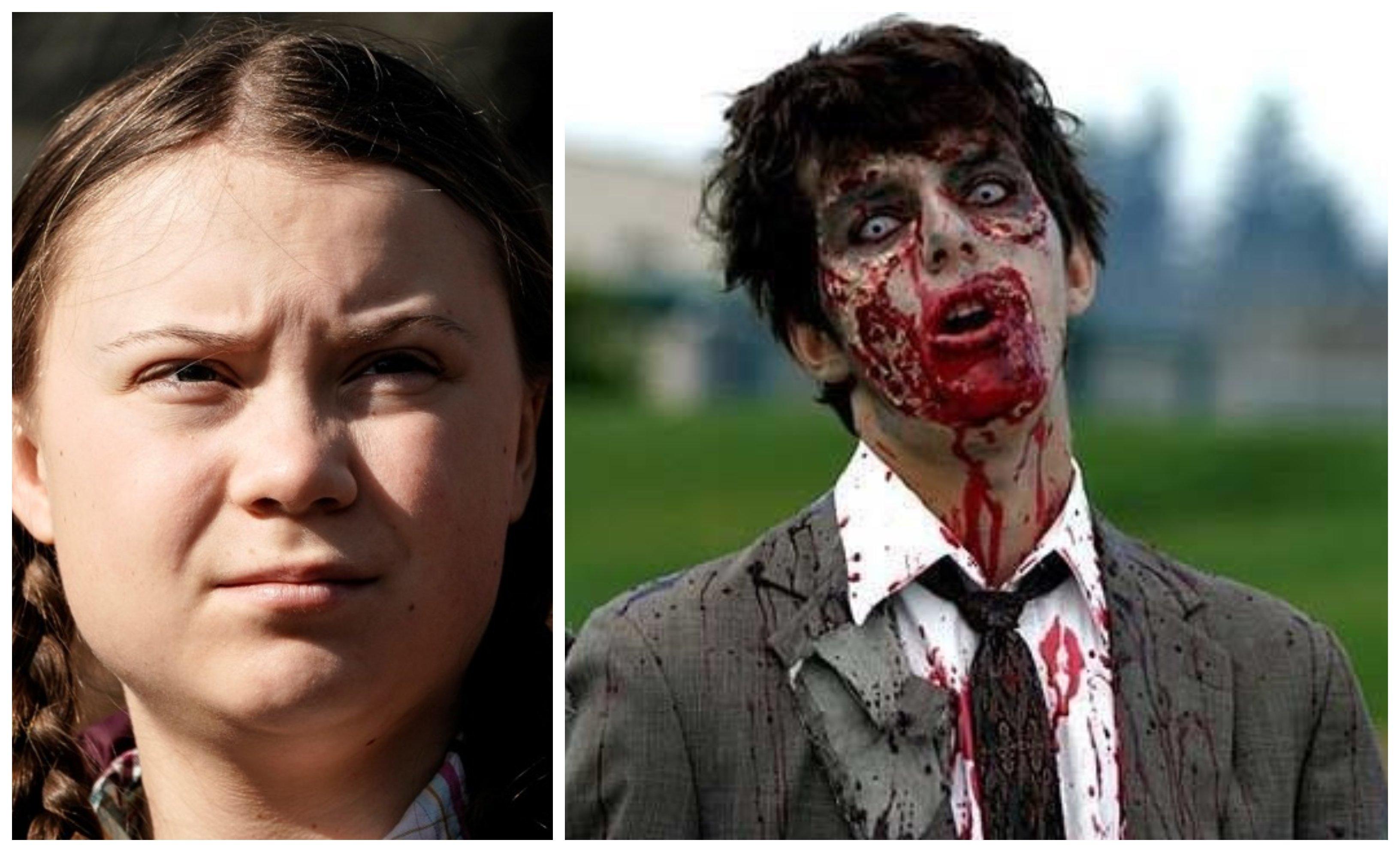 Greta, sálvanos de la 'extinción zombie'