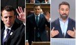 Macron, Sánchez y Abascal