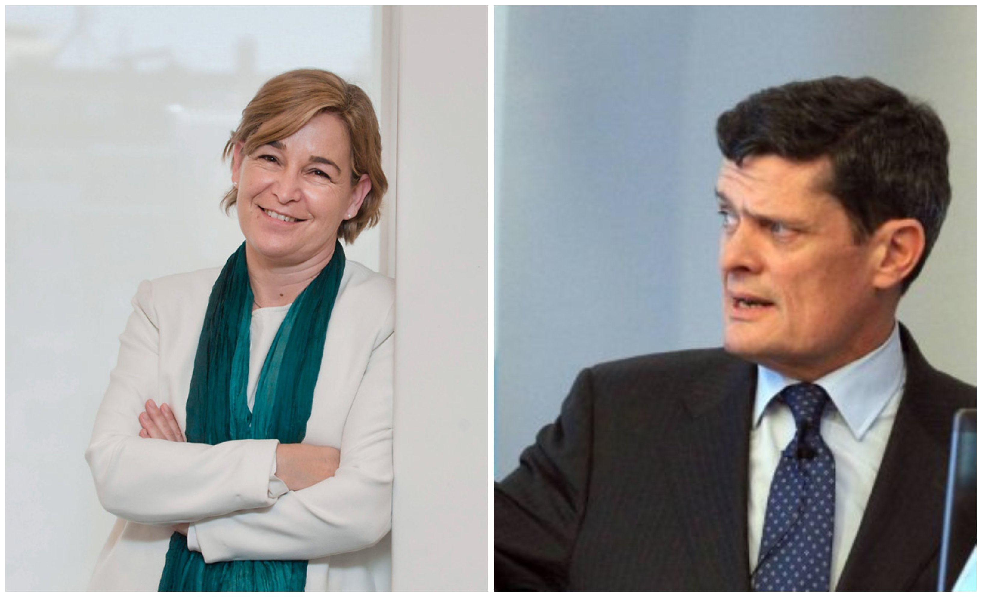 Belén Romana y Jaime Echegoyen