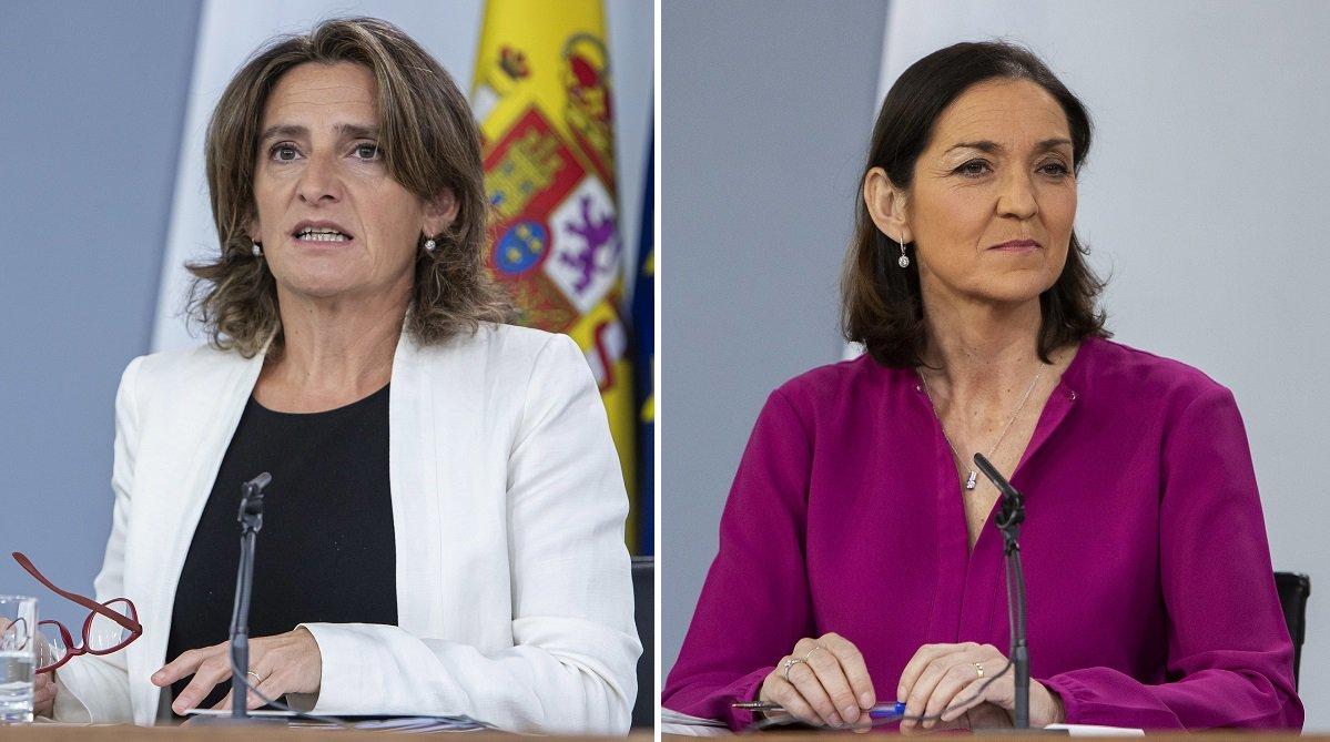 La ministra Ribera y la ministra Maroto, dos comportamientos muy distintos dentro del Gabinete Sánchez