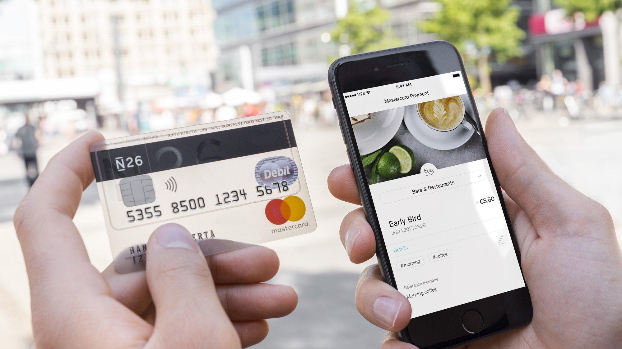 La banca del futuro se llama N26: solo móvil, sin oficinas y sin apenas empleados