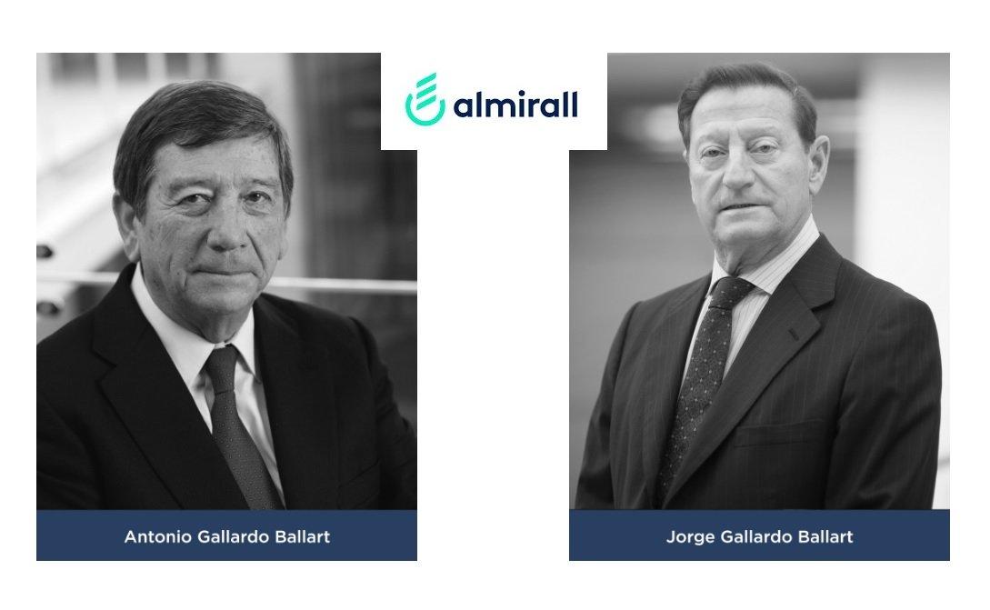 Los hermanos Antonio y Jorge Gallardo Ballart