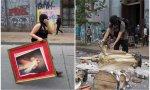 Chile. Insistimos: de revolución exclusivamente social, nada. Hay ataques, vandalismo y profanaciones contra las iglesias cristianas