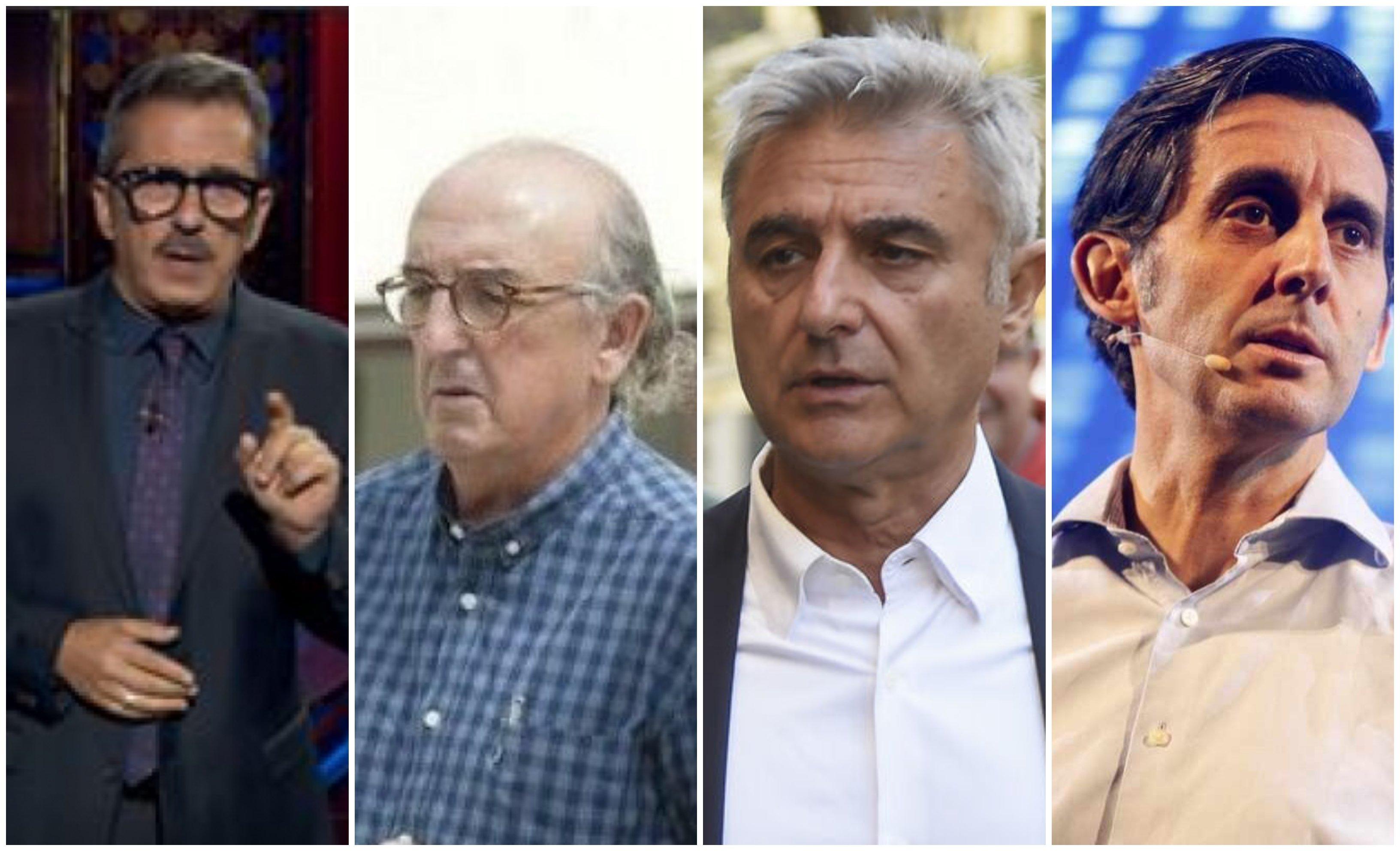 Buenafuente, Roures, Barroso y Pallete
