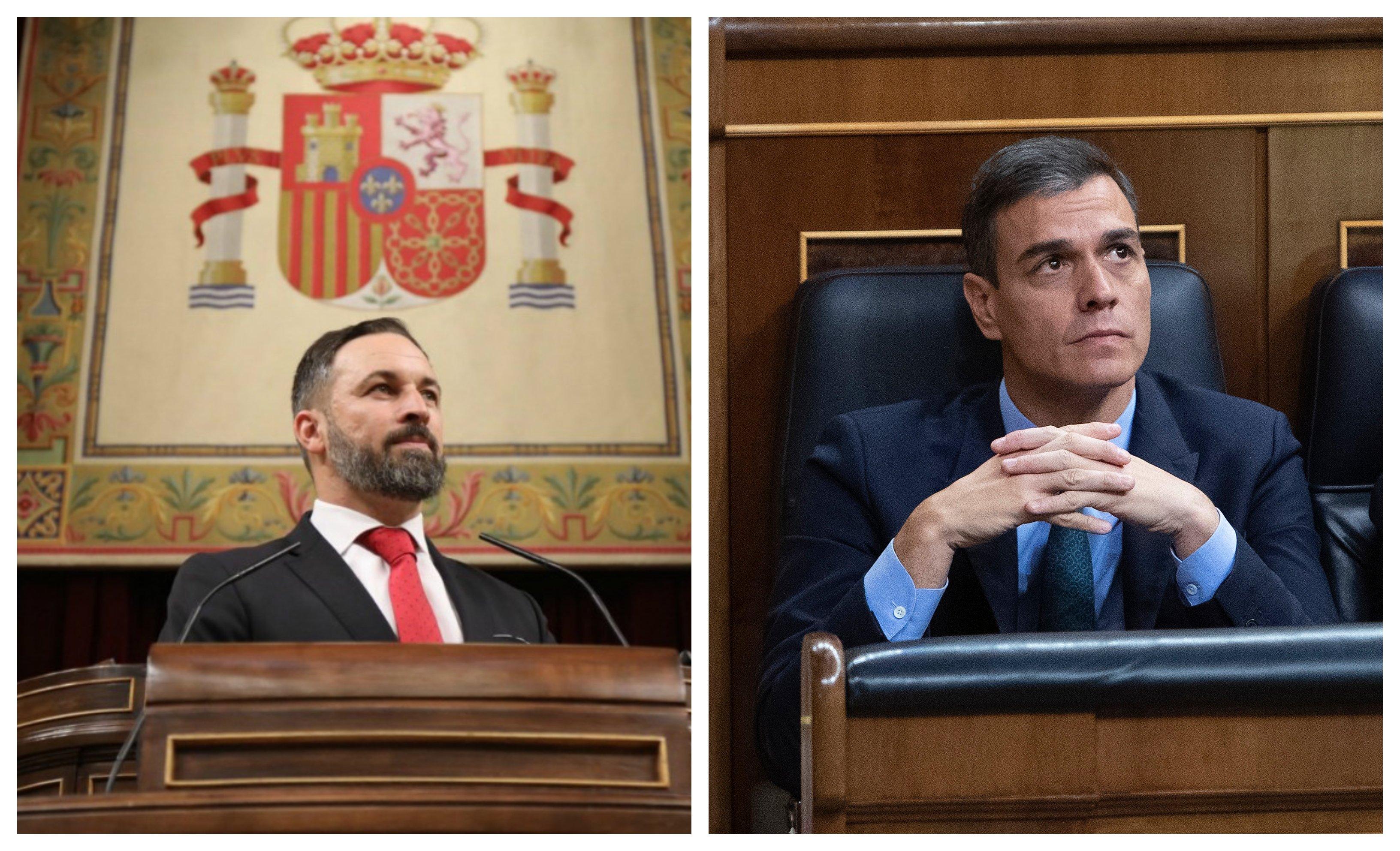 """Abascal le recuerda a Sánchez lo que dijo sobre un gobierno con Podemos: """"Vamos hacia la Venezuela de Chávez"""""""