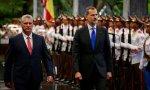 El Rey de España y y el cubano Díaz Canel
