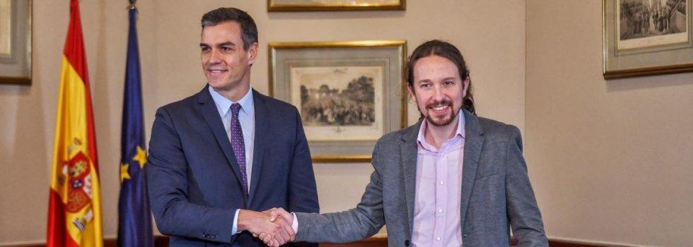 Pedro Sánchez y Pablo Iglesias tiene un 'valor' común: la cristofobia.