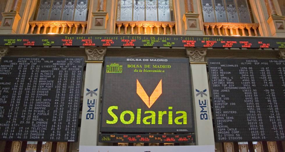 Solaria gana 14 millones hasta septiembre, un 24% menos, por la falta de extraordinarios