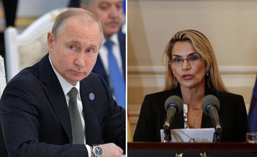 Vladimir Putin apoya a Jeanine Áñez