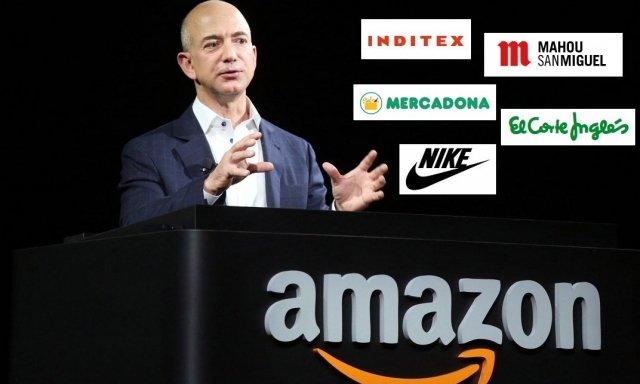 ¿Quién resiste a Amazon? Inditex, Mahou, San Miguel, Mercadona, El Corte Inglés, Nike... - Hispanidad