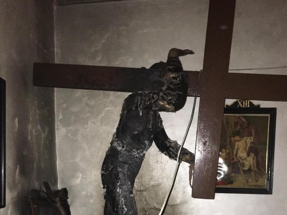 Nazareno quemado de Tauste