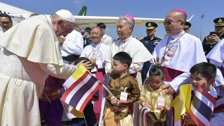 El Papa en Tailandia