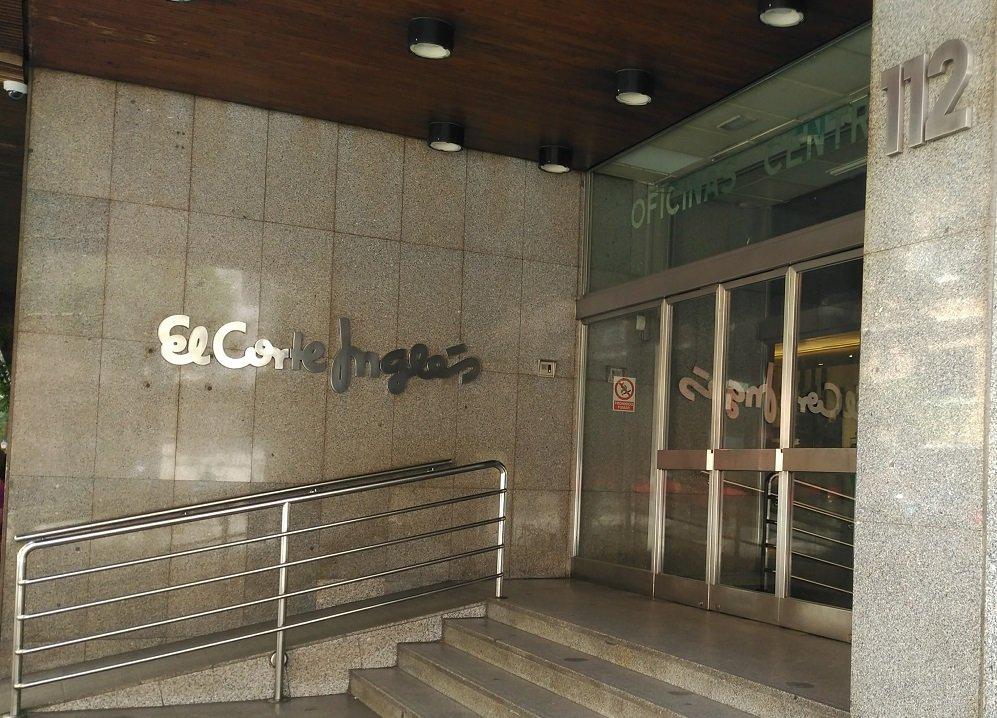Sede de las oficinas centrales de El Corte Inglés, en la calle Hermosilla, 112, de Madrid