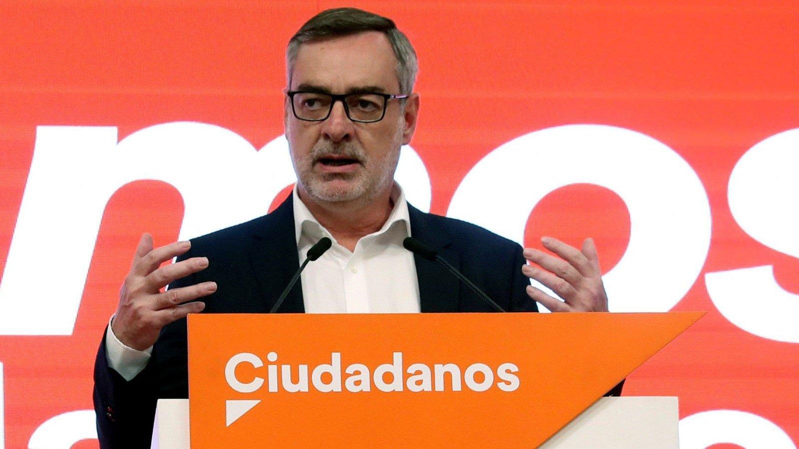 Villegas. Otra baja tras Rivera y... las elecciones: Villegas dejará la dirección de Cs cuando se elija a un nuevo presidente