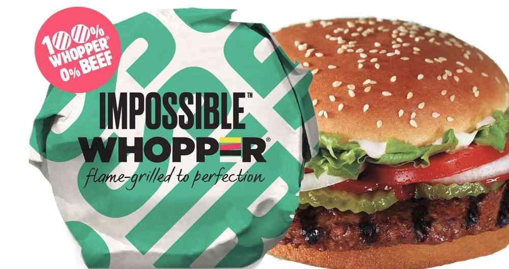 La hamburguesa 'verde' de Burguer King