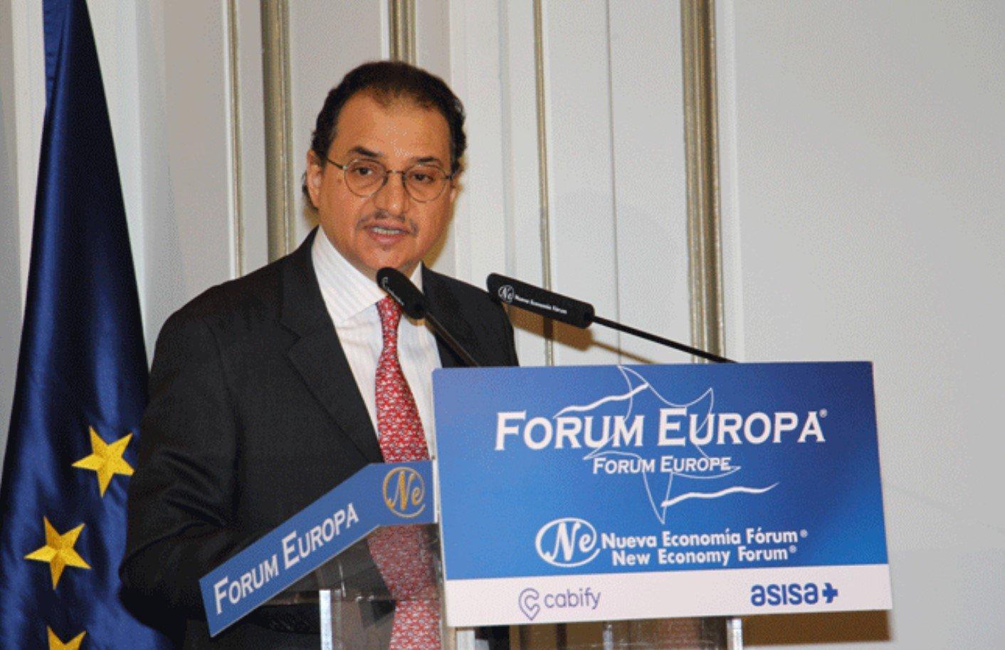 El embajador de Arabia Saudí en España: príncipe Mansour Bin Khalid Al Farhan Al-Saud