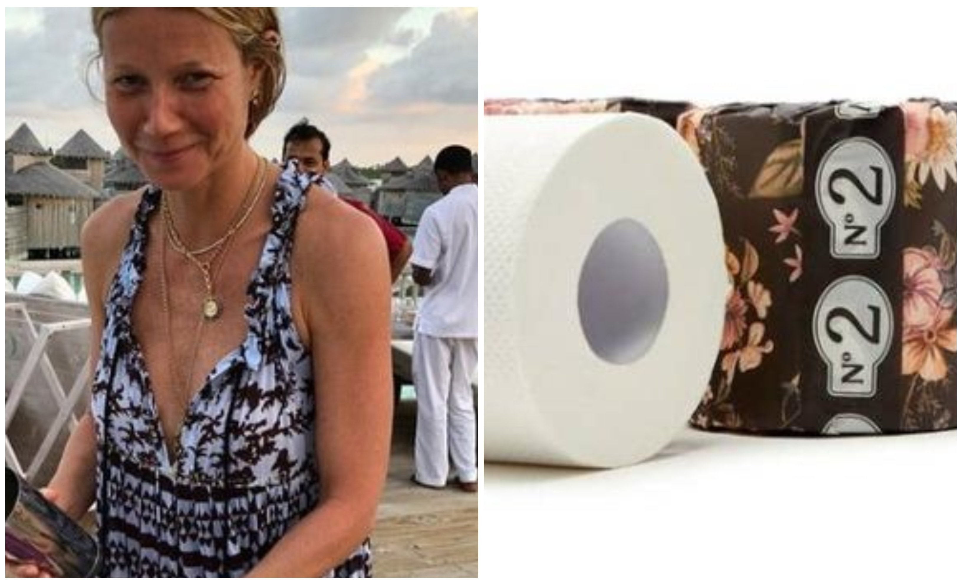 """Paltrow, promociona ahora un """"papel higiénico con conciencia"""""""
