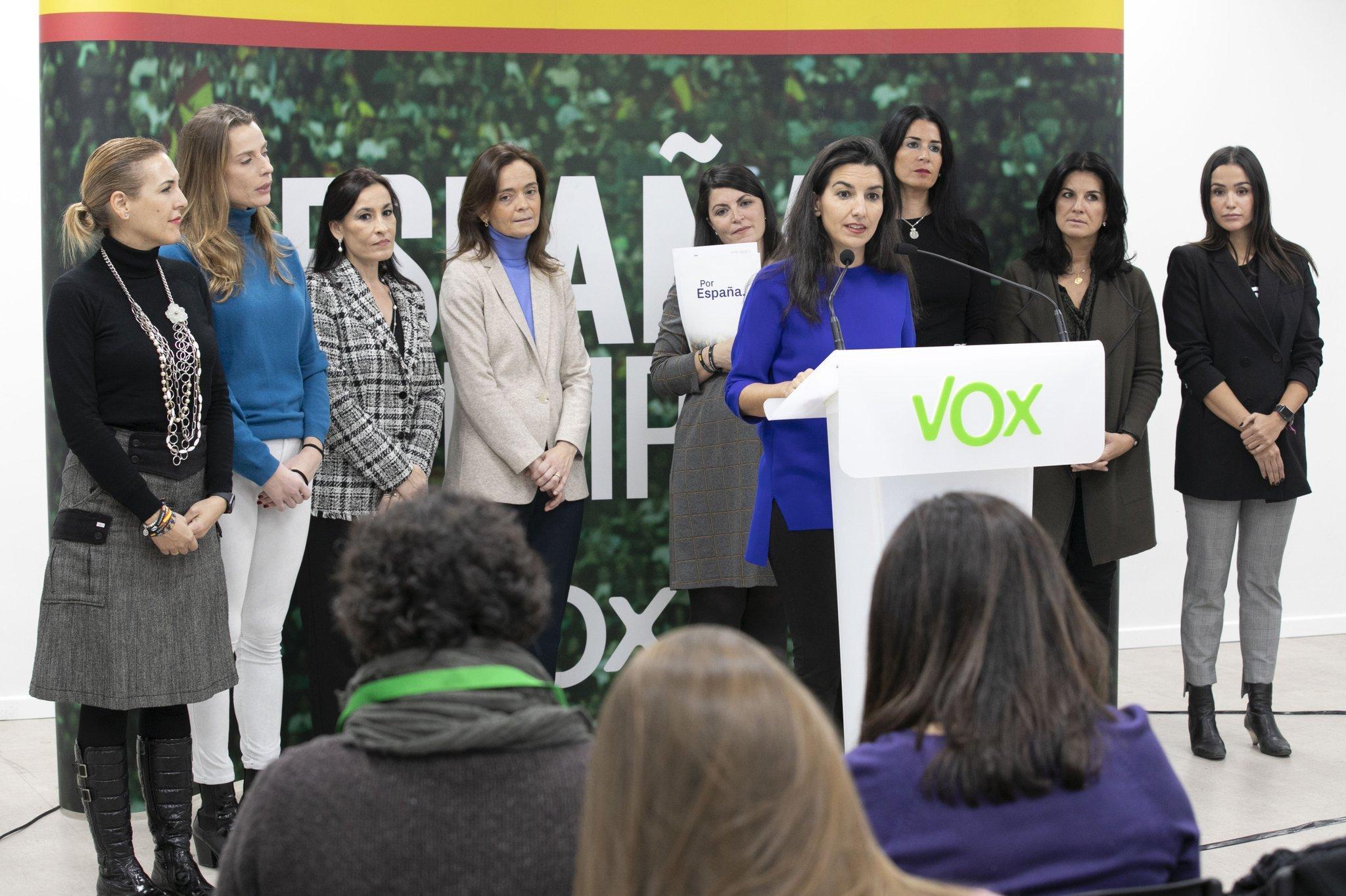 Campaña de Moncloa para blindar el pacto con Podemos: criminalizar a Vox por su rechazo a la injusta ley contra la violencia de género