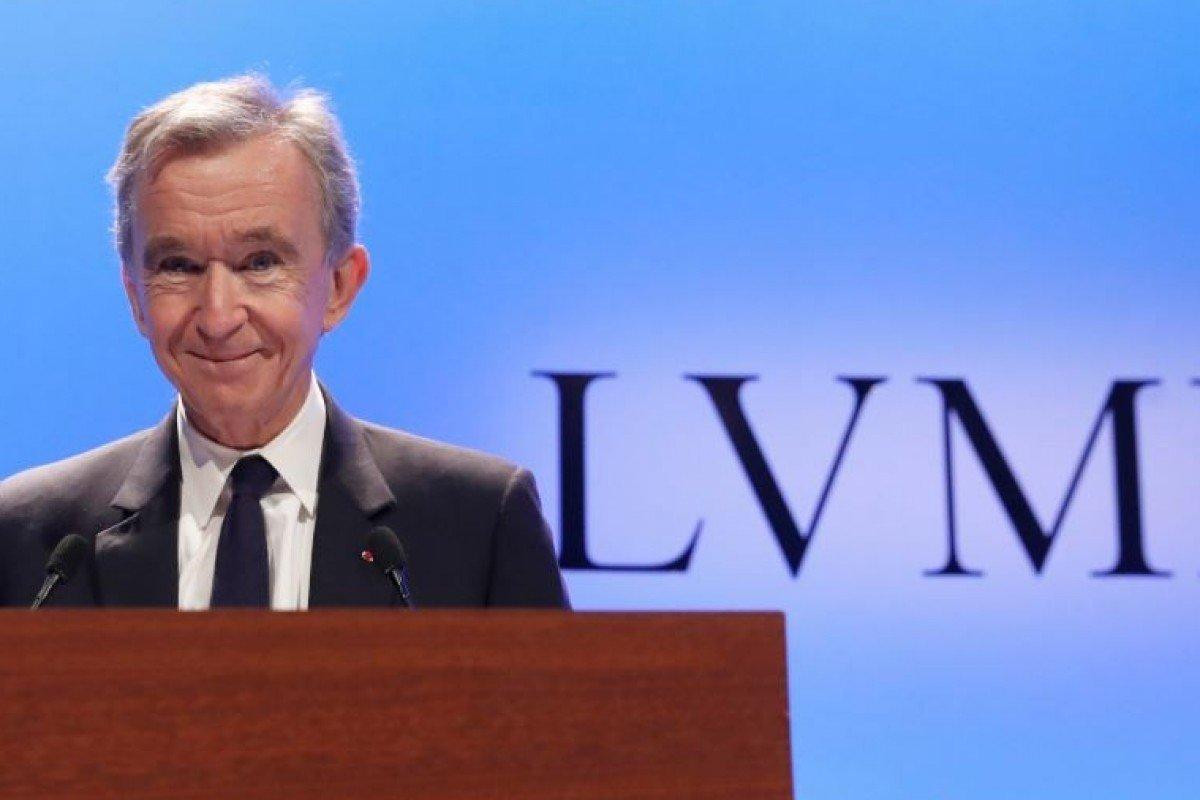 Bernard Arnault, responsable de LVMH Louis Vuitton Moët Hennessy