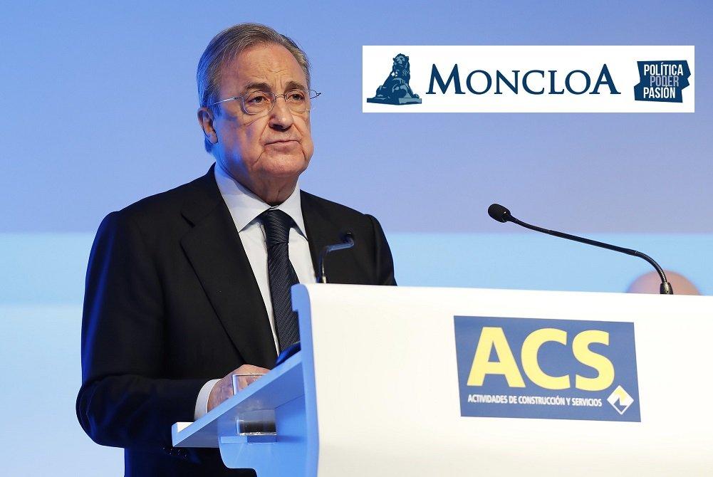 Florentino Pérez denuncia a 'Moncloa.com'