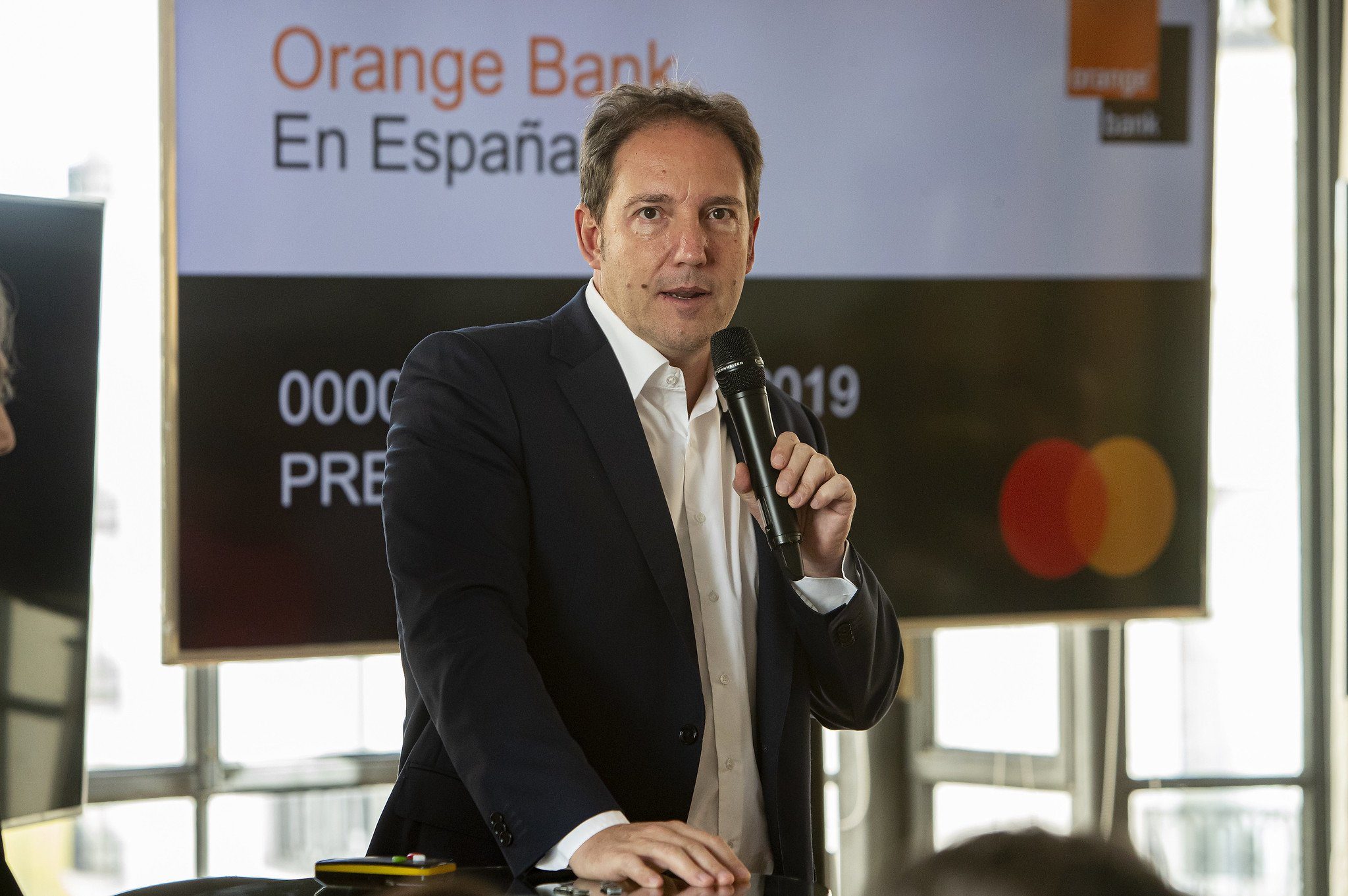 Laurent Paillassot ha presentado este lunes 'su' banco, Orange Bank