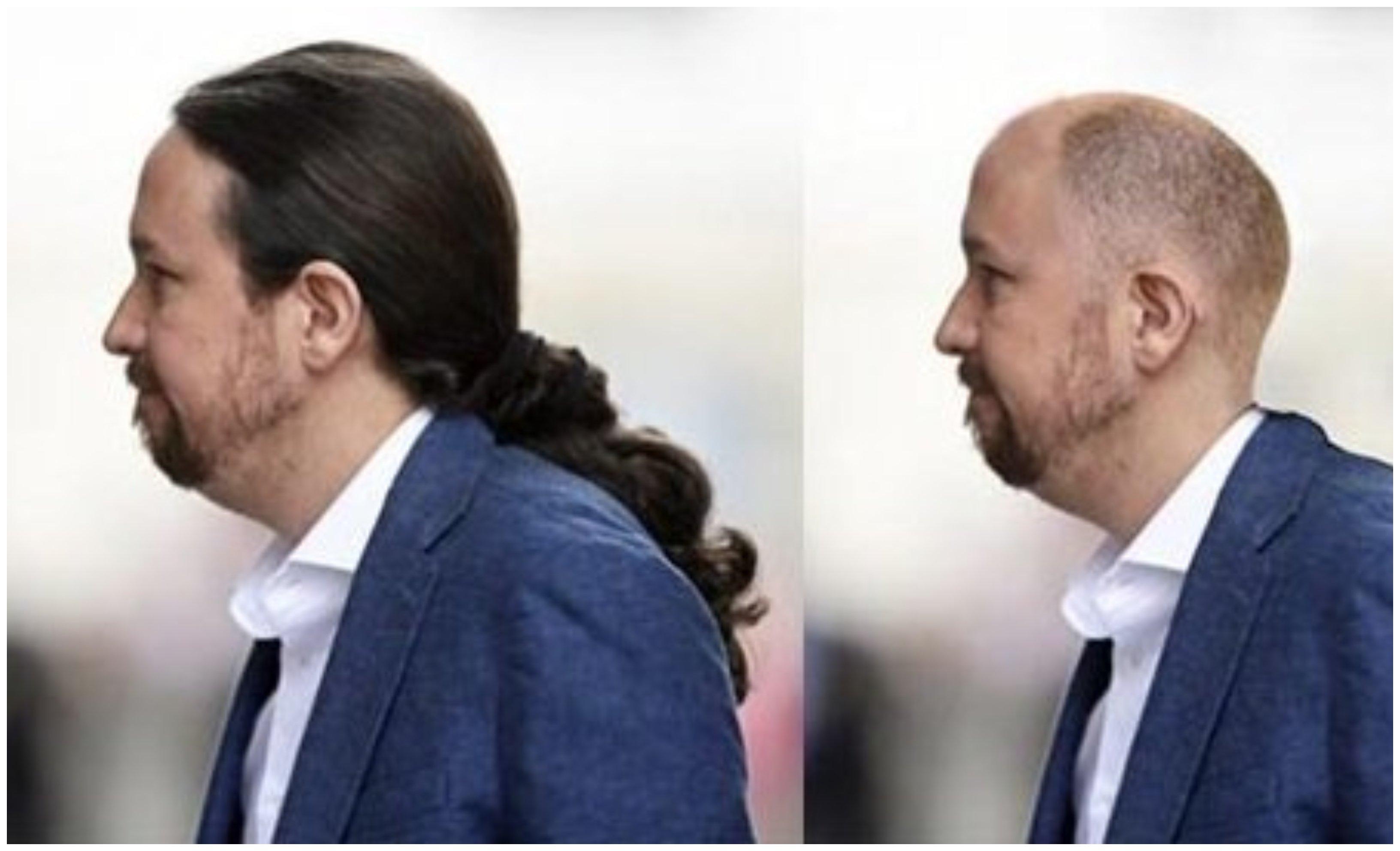 El 'antes' y el 'después' de Pablo Iglesias