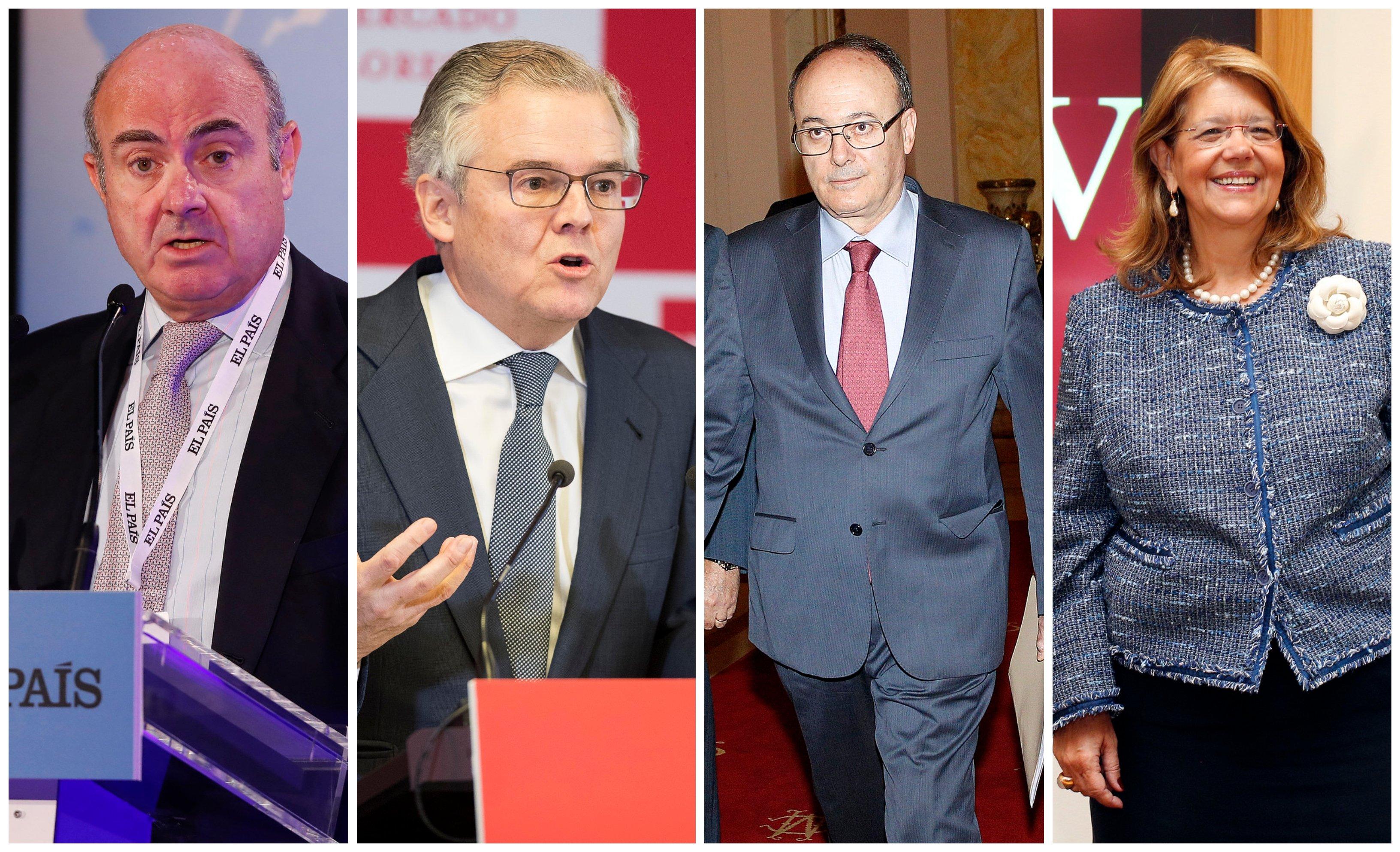 Popular. Giro copernicano del juez Calama: llama a Guindos, Albella, Linde y Elvira