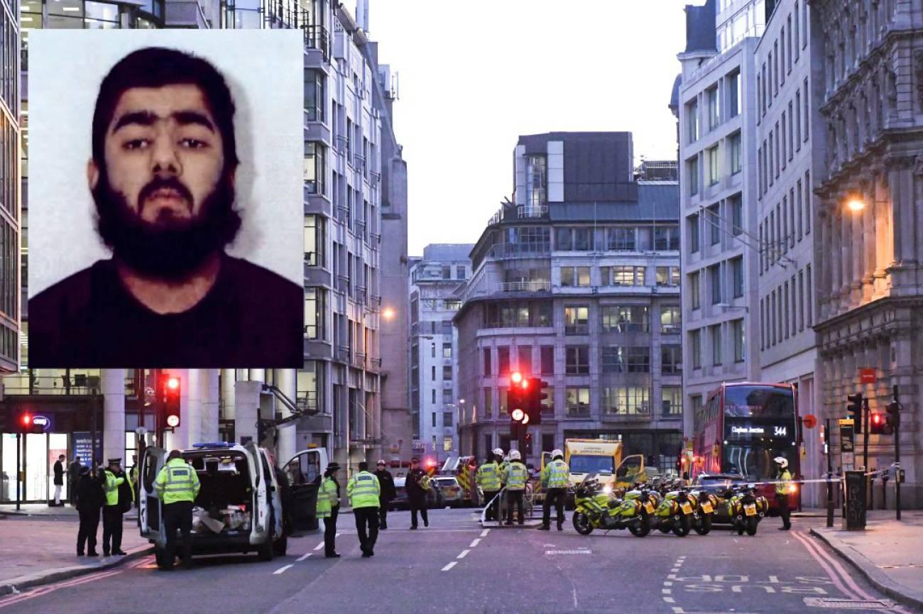 Usman Khan, de 28 años, fue condenado por terrorismo en 2012 tras declararse culpable, junto a otros ocho hombres más
